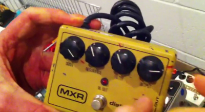 "MXR Distortion II pedal, from ""Stompland"""