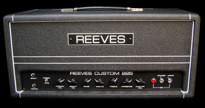Reeves Custom 225 bass amp head