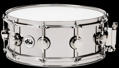 DW Collector's Stainless Steel snare