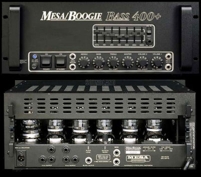 Mesa/Boogie Bass 400+ amp head