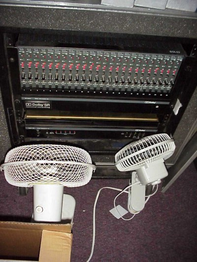 Dolby XP 24-channel SR unit, in the studio
