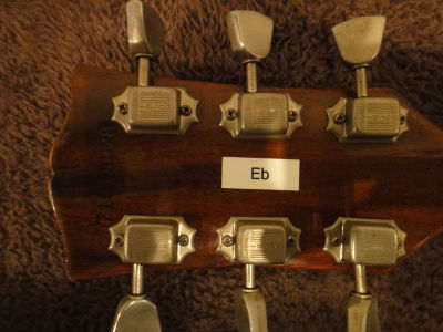 Billy's Gibson LP Special, headstock