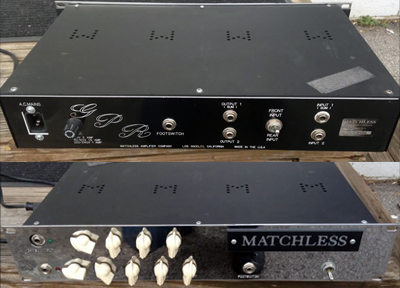 Matchless GPR Pre-Amp