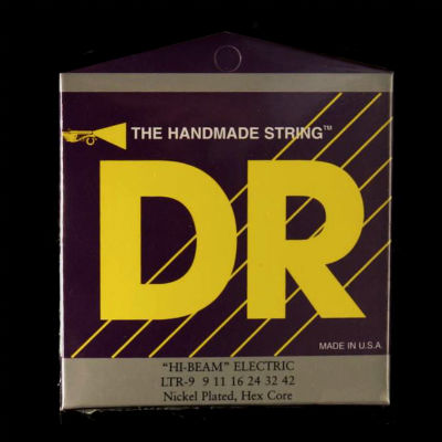 DR Hi Beam Nickel-plated lite strings
